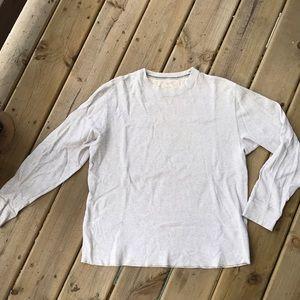 Men's Long Sleeve Waffle Shirt
